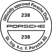 Officially approved Porsche Club 238